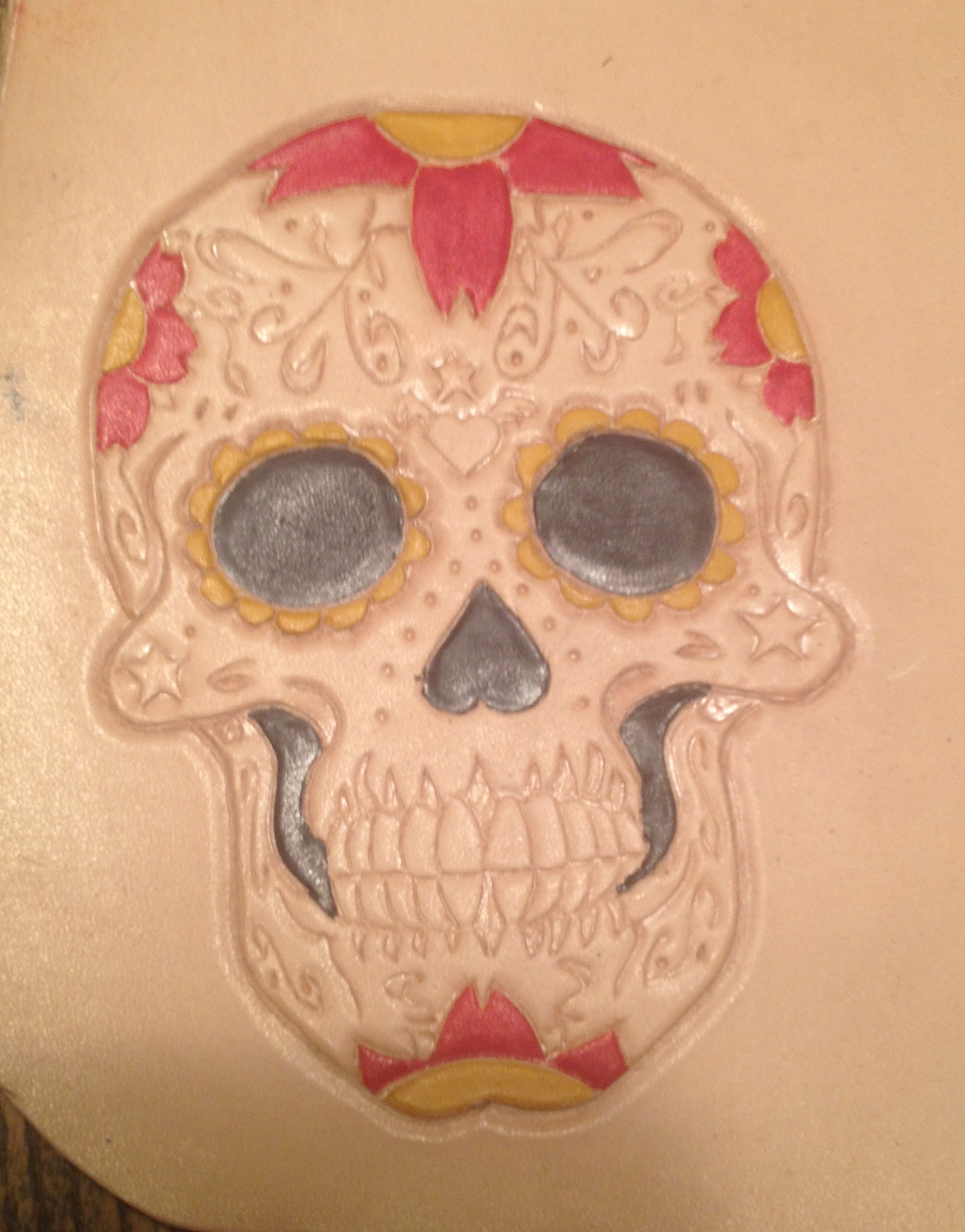 Click image for larger version  Name:sugar skull in progress.jpg Views:45 Size:737.6 KB ID:199914