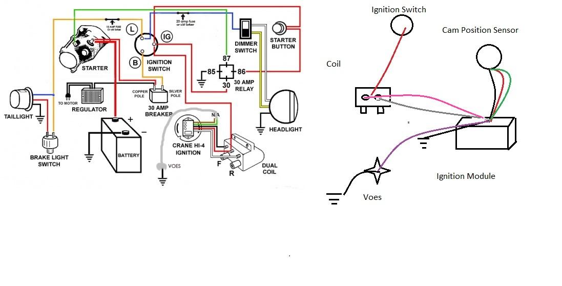 Wiring Help Rewired Evo No Spark