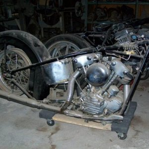 1947 Knucklehead project