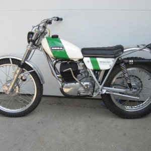 Really nice original Ossa MAR 250 that I had, only I was 3rd owner and knew the 1st