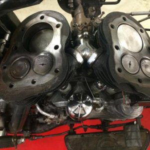 New head gaskets last winter.