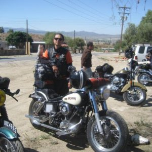 Quick stop, somewhere between San Felipe and Ensenada; which was an amazing stretch of road...