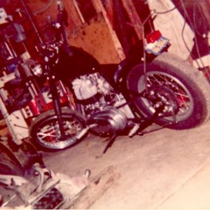 My uncle's bike back in the mid 1970's
