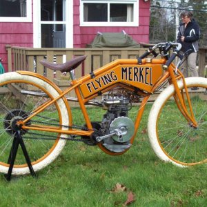 1915 500 Flying Merkel replibike