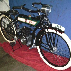 1913 BSA chain drive replica