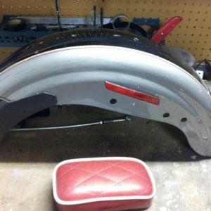 5. Sportster Rear Fender just layin around...